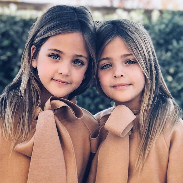 Lea Rose e Ava Marie são consideradas as gêmeas mais lindas do mundo