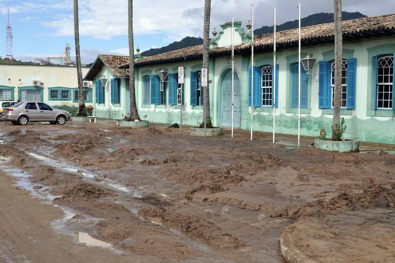 Chuvas em São Sebastião