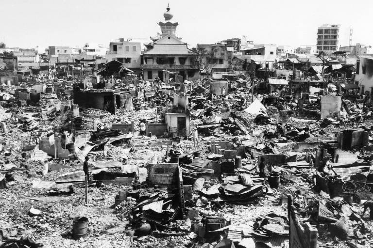 1968: Em Saigon, militares americanos matam sul-vietnamitas por engano