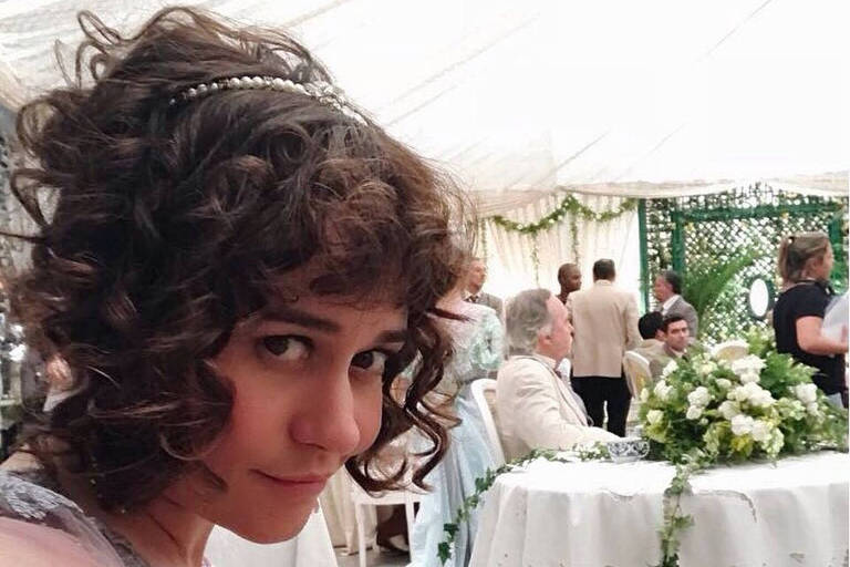 """Alessandra Negrini mostra visual para novela """"Orgulho e Paixão"""""""