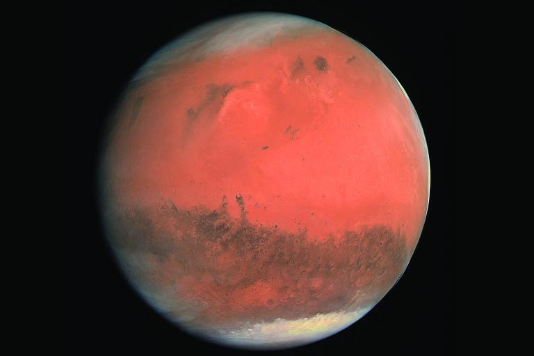 Imagem do planeta vermelho em 'A Caminho de Marte' (Sextante), livro do físico Ivair Gotijo, que lidera na Nasa a operação do robô Curiosity