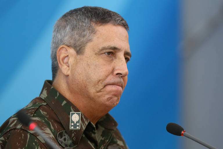 O general do Exército Walter Braga Netto