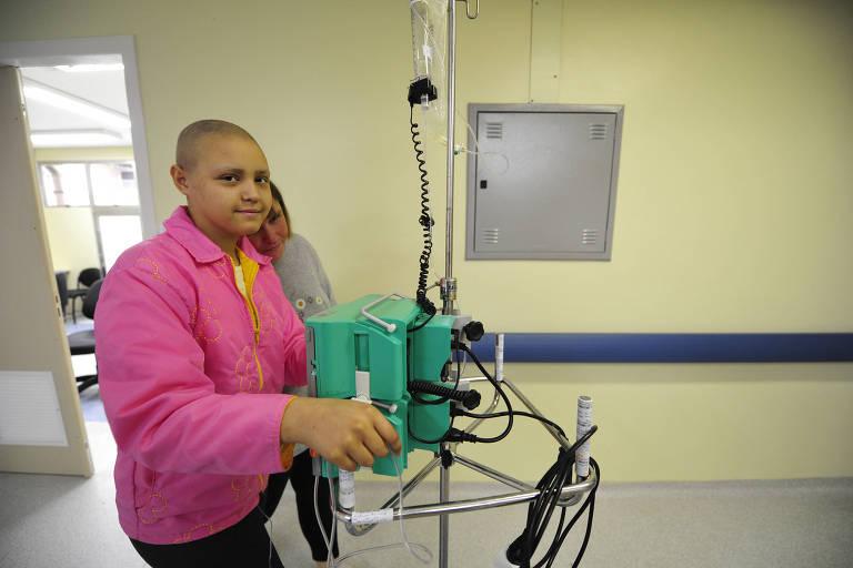Droga pode ajudar a tratar crianças com câncer