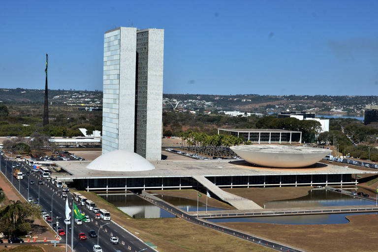 Congresso Nacional, em Brasília, que deve analisar texto do decreto de intervenção federal no Rio