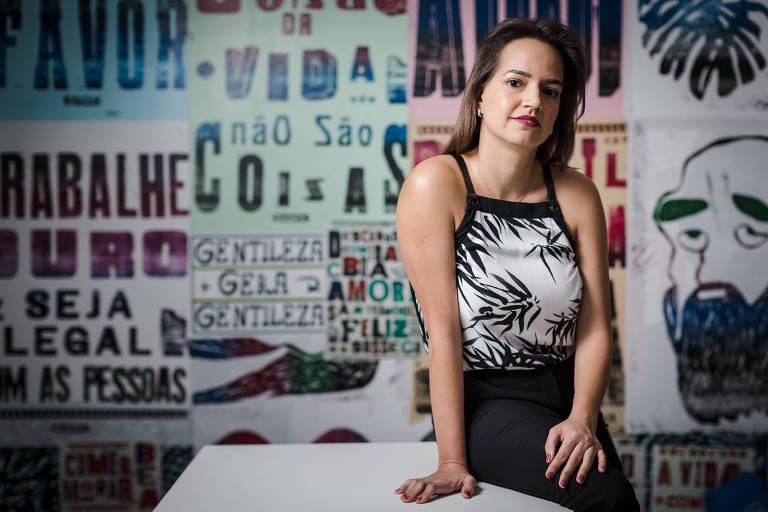 Gabriela Freitas, 38, fundadora da agência Proxy Media