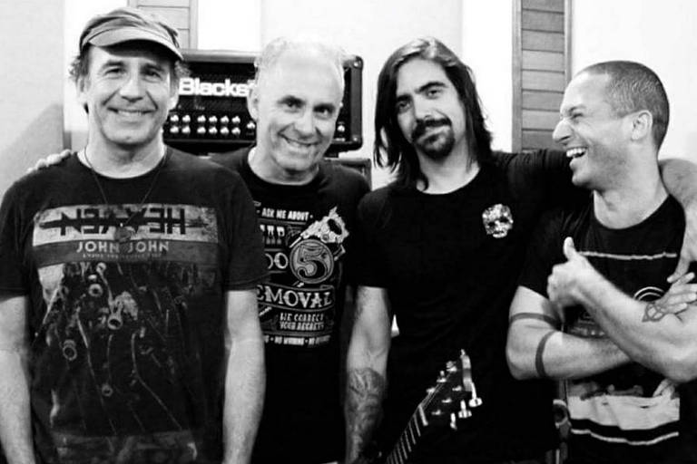 A banda Aborto Elétrico Tributo faz show grátis no MIS neste domingo