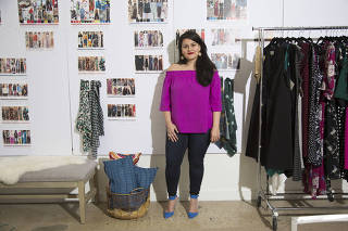Nadia Boujarwah, a co-founder of the retail website Dia & Co., in New York.