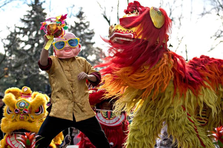 Comemorações do Ano Novo Chinês no mundo