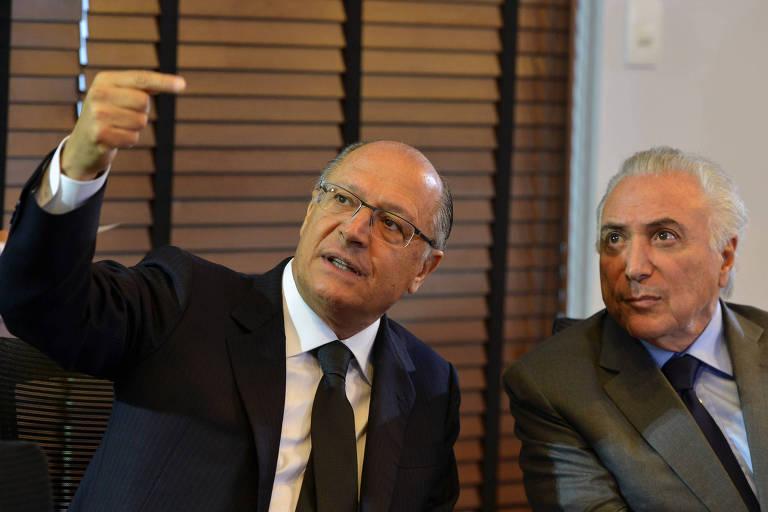 alckmin aponta para temer