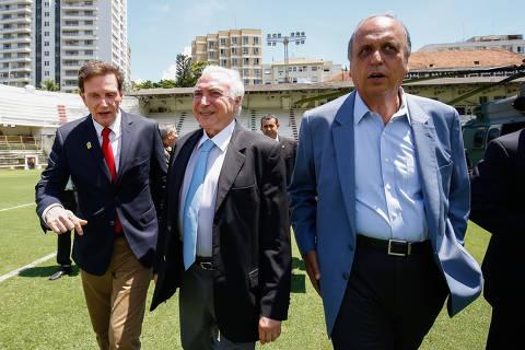 Temer anuncia no Rio que criará Ministério da Segurança Pública