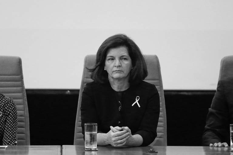 A procuradora-geral da República, Raquel Dodge, em Brasília