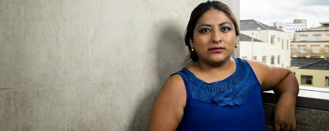 SAO PAULO, SP, 12.02.2018: Retrato de Mônica Rodriguez Ulo, 33, imigrante boliviana que está no Brasil há 14 anos e não tem direito ao voto (Foto: Rafael Roncato/Folhapress, PODER) ***EXCLUSIVO FOLHA***