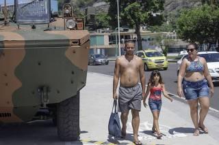 Exercito nas ruas do Rio