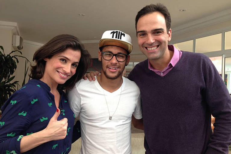 Neymar em programas da TV Globo