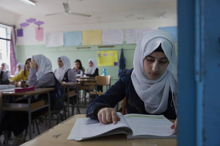 Campo de refugiados palestinos no Líbano