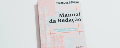 São Paulo, SP, Brasil, 14-02-2018: Manual de redação da Folha de S.Paulo do ano de 2018. (foto Gabriel Cabral/Folhapress)