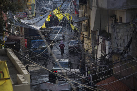iSIDON, LÍBANO. 06/02/2018. Movimento na rua do campo de refugiados palestinos Ein el-Hlweh em Sidon no sul do Líbano. ( Foto: Lalo de Almeida/ Folhapress ) MUNDO  *** EXCLUSIVO FOLHA***