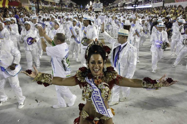 Desfile das Campeãs no Rio