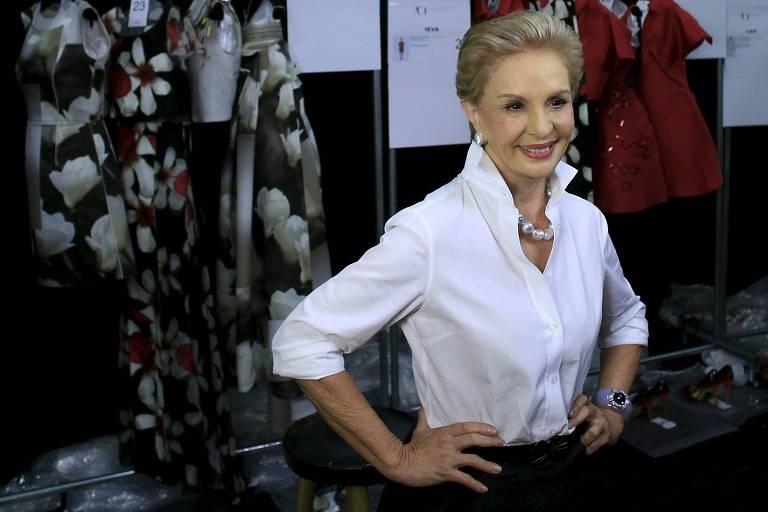 839198024301e Carolina Herrera foi mestre em fazer da moda perfumaria - 18 02 2018 ...