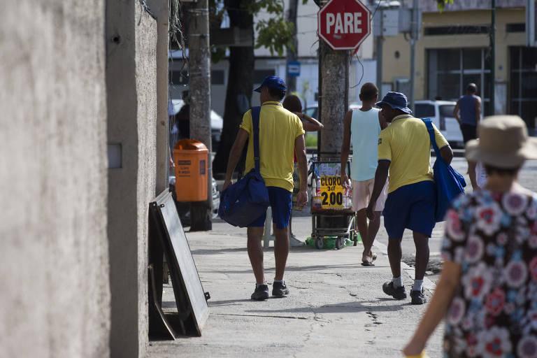Correios e violência no Rio