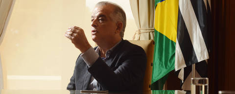 SÃO PAULO, SP, BRASIL, 12.01.2018 -  Entrevista com o vice-governador de São Paulo, Márcio França (PSB), realizado no Palácio dos Bandeirantes, em São Paulo (SP). Márcio França deve assumir o governo de São Paulo em abril, quando o governador Geraldo Alckmin deve  se licenciar do cargo( Foto: Karime Xavier/Folhapress)