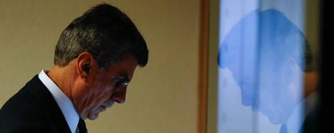 BRASÍLIA, DF,BRASIL,  31.10.2017, 12h00: CAE-AUDIÊNCIA -  O presidente nacional do PMDB, senador Romero Jucá (PMDB-RR).  A CAE (Comissão de Assuntos Econômicos) do Senado Federal, ouve o ministro da Fazenda, Henrique Meirelles, em Brasília (DF). (Foto: Pedro Ladeira/Folhapress)