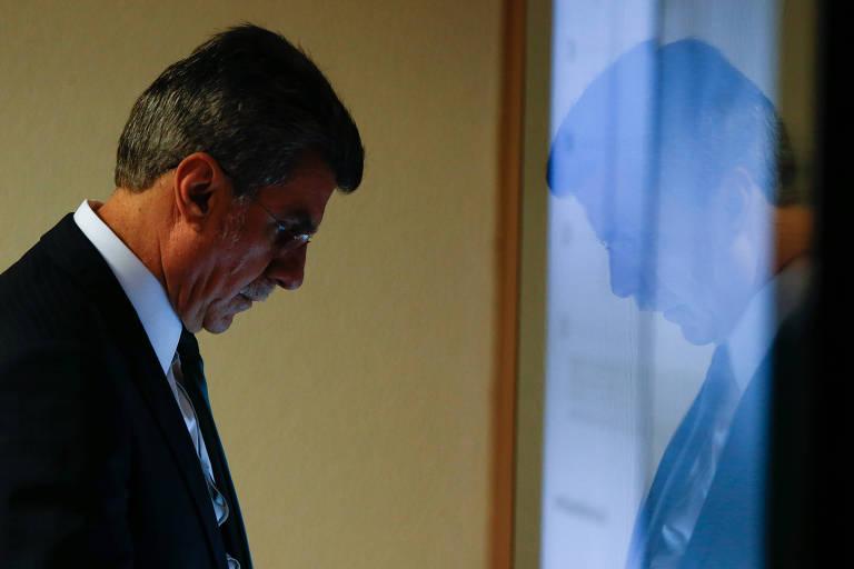 O presidente nacional do MDB, senador Romero Jucá