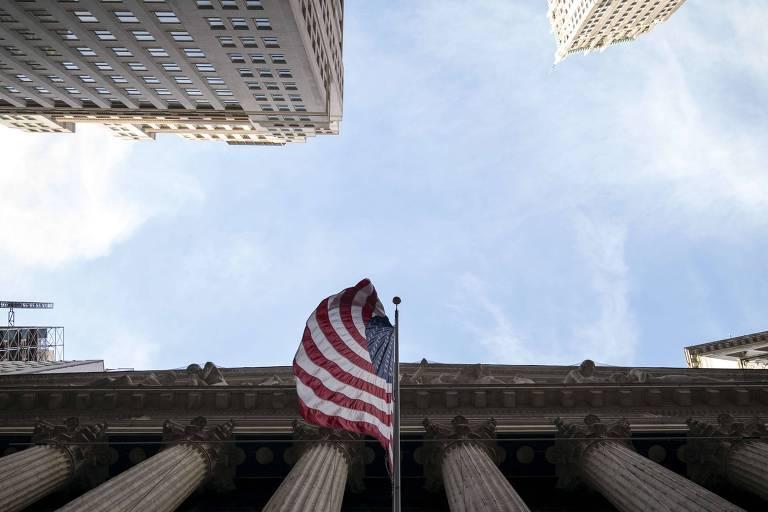 Vista da Bolsa de Nova York: mercados ficaram fechados por feriado do Dia do Presidente