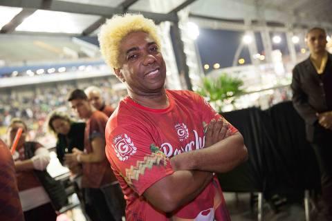 Sao Paulo, 16/02/2018- Ivo Meirelles no samb—dromo do anhembi durante o desfile das campeas de Sao Paulo 2018.  Foto: Mastrangelo Reino/ Folhapress *****EXCLUSIVO MONICA BERGAMO***** ORG XMIT: 551880BB