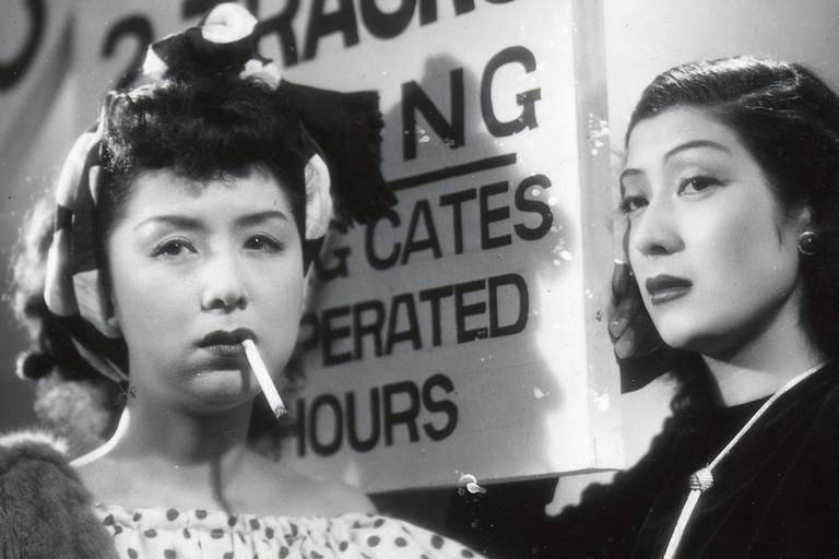 """Cena do filme """"Mulheres da Noite"""", do janponês Kenji Mizoguchi"""