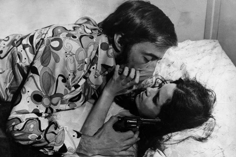 "Cena de ""O Bandido da Luz Vermelha"" (1968), primeiro filme de Rogério Sganzerla"
