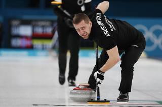 Suspeita de doping choca atletas de curling nos Jogos de Inverno