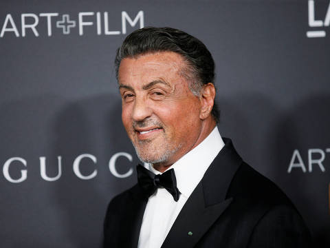 Actor Sylvester Stallone poses at the Los Angeles County Museum of Art (LACMA) Art+Film Gala in Los Angeles, October 29, 2016. REUTERS/Danny Moloshok ORG XMIT: DLM167