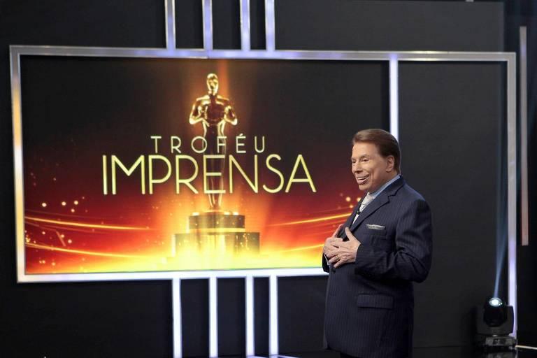 Silvio Santos no Troféu Imprensa em 2017