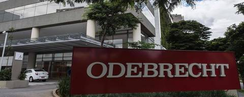 View of the headquarters of Brazilian construction giant Odebrecht SA in Sao Paulo, Brazil on March 2, 2017. For years, Brazil-based Odebrecht, one of the region's biggest construction companies, landed huge public works contracts across Latin America by paying hundreds of millions of dollars in bribes. / AFP PHOTO / NELSON ALMEIDA ORG XMIT: SAO005
