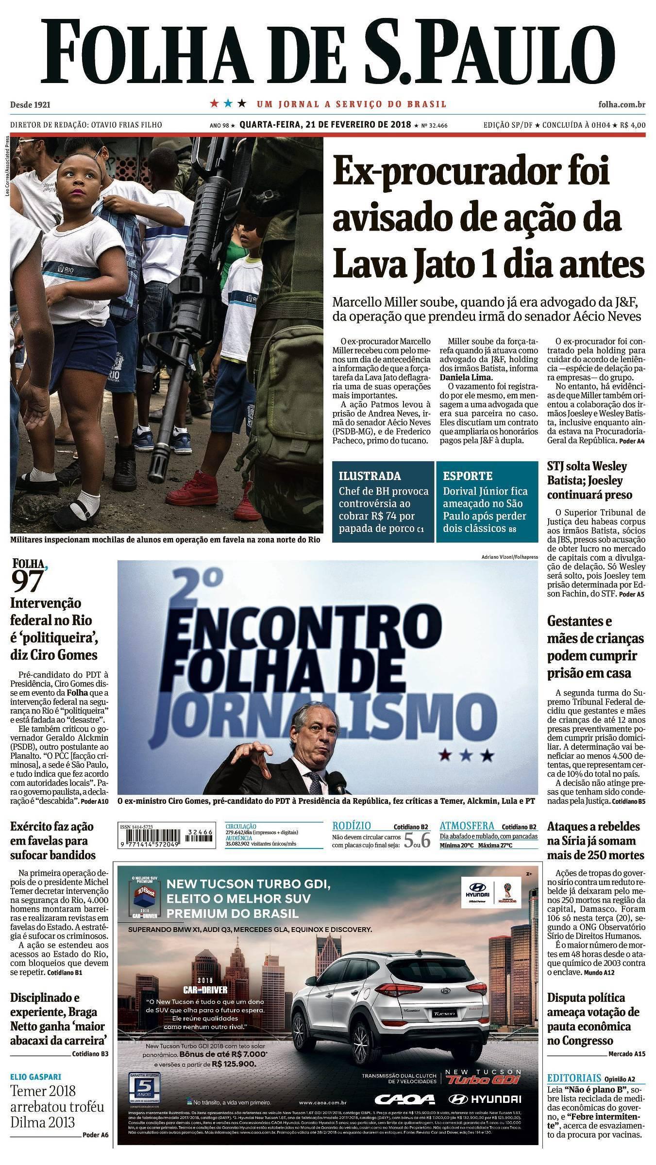 a811aeed07 Folha de S.Paulo: Notícias, Imagens, Vídeos e Entrevistas