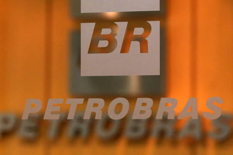 The logo of Brazil's state-run oil company Petrobras is pictured in the company headquarters in Sao Paulo, Brazil February 20, 2018. REUTERS/Paulo Whitaker ORG XMIT: PW06