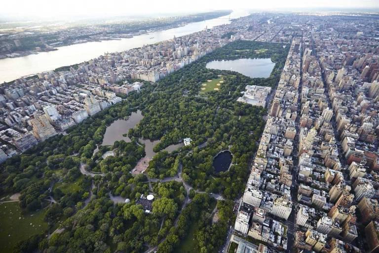 Central Park, em Nova York, é a locação que mais apareceu em filmes de Hollywood