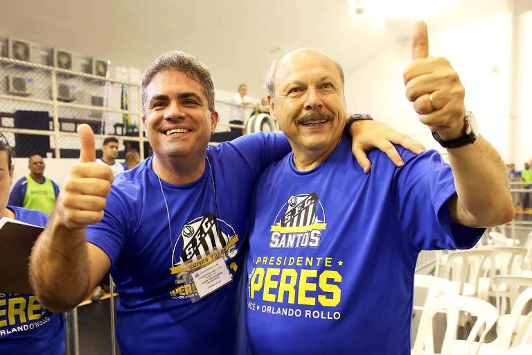 Histórico da crise no Santos