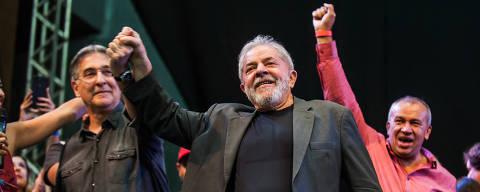 BELO HORIZNTE, MG, BRASIL,  21-02-2018, 18:30h. Ex- presidente Luis Inacio Lula da Silva se reuniu com militantes no Expominas, Minas Gerais, para lançar pré candidatura à presidência.   (Alexandre Rezende/Folhapress COTIDIANO) *** EXCLUSIVO FOLHA *** ORG XMIT: Alexandre Rezende