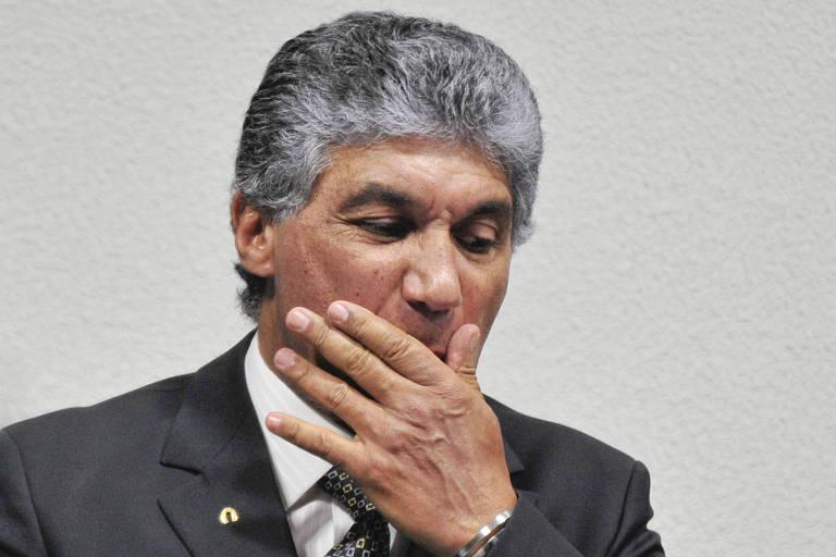 Ex-diretor da Dersa Paulo Preto durante depoimento em Brasília
