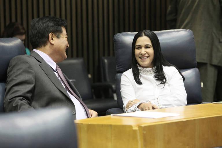 A vereadora Noemi Nonato (PR) é a que mais gasta com verba de gabinete