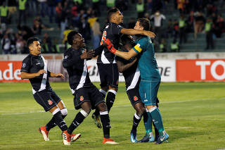 Soccer Football - Vasco da Gama v Jorge Wilstermann - Copa Libertadores - Patria Stadium, Sucre, Bolivia