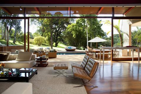 Projeto do designer de interiores Fernando Piva