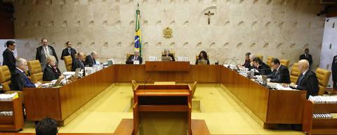 BRASILIA, DF,  BRASIL,  03-05-2017, 14h00: Sessão no plenário do STF Supremo Tribunal Federal, presidente Cármem Lúcia, em Brasília DF (Foto: Igo Estrela/Folhapress)