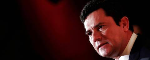 Brazilian federal Judge Sergio Moro attends a forum hosted by news magazine Veja in Sao Paulo, Brazil, November 27, 2017. REUTERS/Leonardo Benassatto ORG XMIT: SAO103