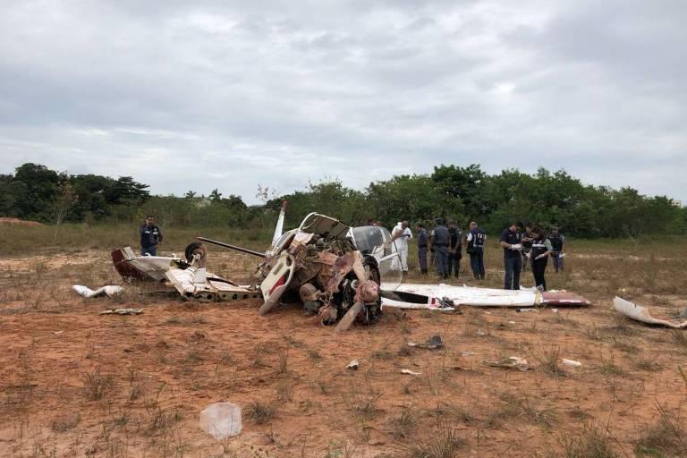 Acidente aéreo em Manaus deixa três mortos e dois feridos