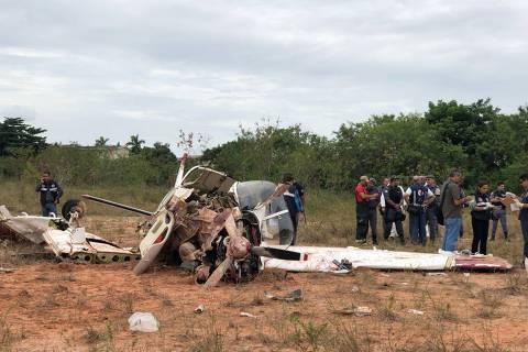 Acidente aéreo em Manaus deixa três mortos e dois feridos DIREITOS RESERVADOS. NÃO PUBLICAR SEM AUTORIZAÇÃO DO DETENTOR DOS DIREITOS AUTORAIS E DE IMAGEM