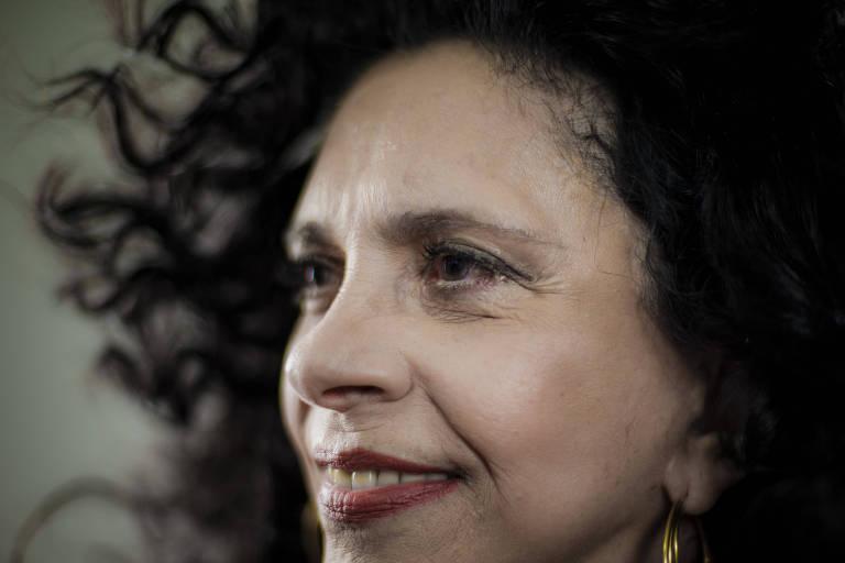 A cantora Gal Costa se apresenta na Casa Natura Musical