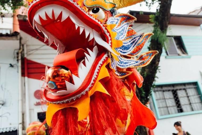 Festa de Ano Novo Chinês na Vila Madalena